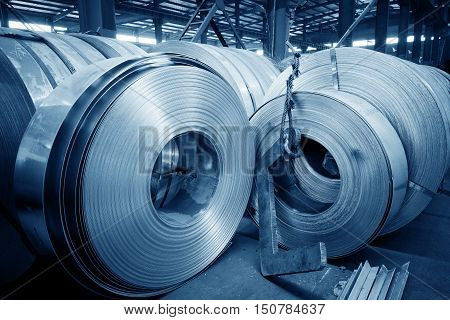 Galvanized steel plant and the whole product