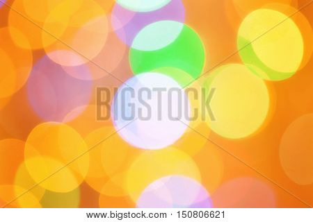 Colorful Bokeh For Background