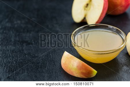 Applesauce On A Slate Slab