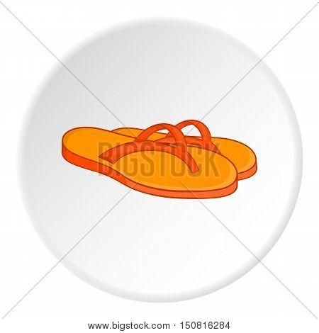Slates icon. Cartoon illustration of slates vector icon for web