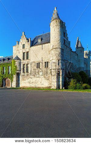 Medieval Castle Het Steen, Antwerp, Belgium