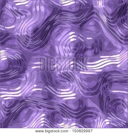 Alien fluid metal glass vector texture background