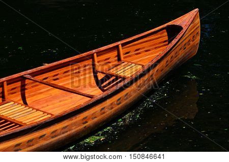 Rowing Boat On The Avon River Christchurch