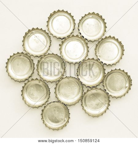 Vintage Looking Beer Bottle Cap