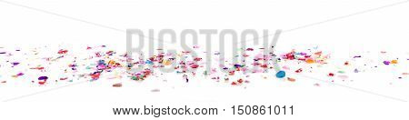 Panorama With Confetti