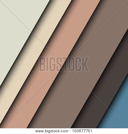 Abstract background with colorful slanted striped and shadows