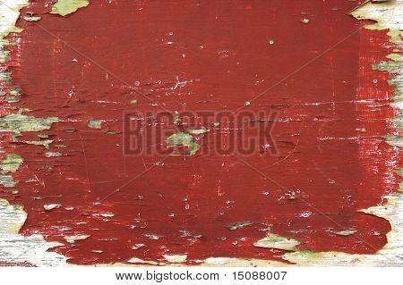 Grunge background of an old wood door