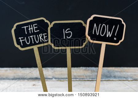 Business Message The Future Is Now