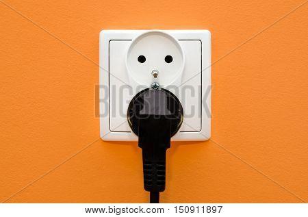 Electrical Socket In Wall