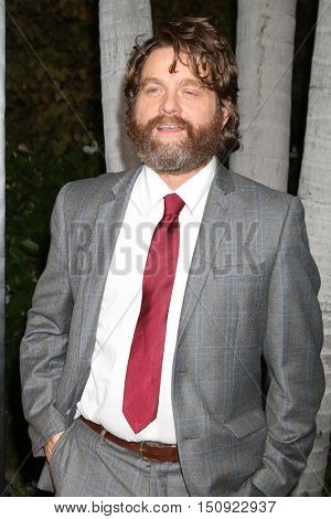 LOS ANGELES - OCT 8:  Zach Galifianakis at the