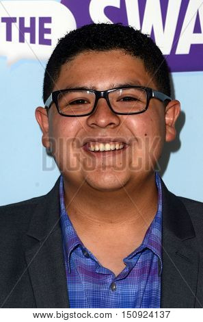 LOS ANGELES - OCT 5:  Rico Rodriguez at the Metropolitan Fashion Week Closing Gala and Awards Show at the ArcLight Hollywood Theater on October 5, 2016 in Los Angeles, CA