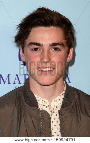 LOS ANGELES - OCT 5:  Spencer List at the Metropolitan Fashion Week Closing Gala and Awards Show at the ArcLight Hollywood Theater on October 5, 2016 in Los Angeles, CA