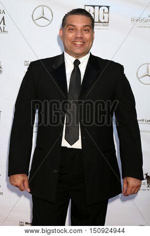 LOS ANGELES - OCT 1:  Marcio Rosario at the Catalina Film Festival - Saturday at the Casino on October 1, 2016 in Avalon, Catalina Island, CA