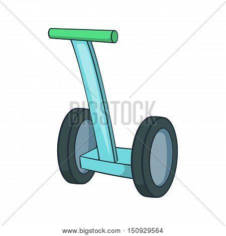 Segway icon. Cartoon illustration of segway vector icon for web design