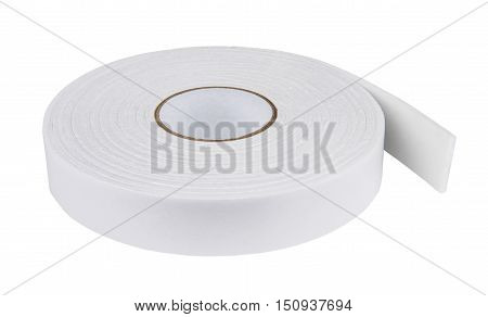 Double Sided Adhesive Tape Isolated On White