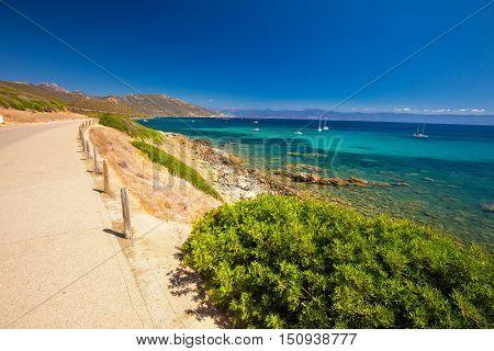 Corsica Coastline, France, Europe.
