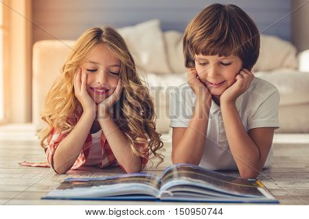 Little Boy And Girl