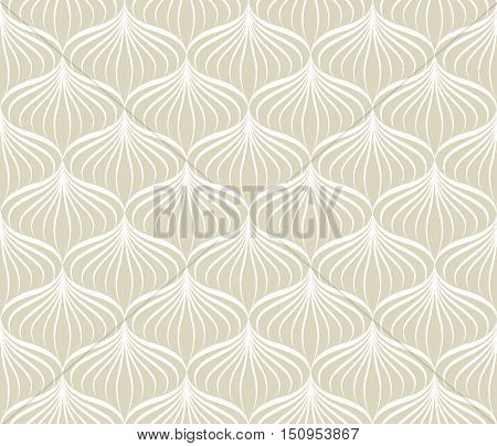 Abstact Vector Seamless Pattern. Floral Jungle Palm Leaves Texture. Stylish Abstract Background