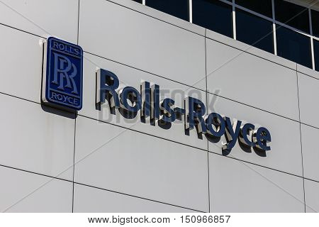 Indianapolis - Circa October 2016: Rolls-royce Corporation Regional Customer Training Center. Rolls-