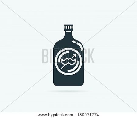 Shampoo Gel Or Conditioner For Hair Vector Element Or Icon, Illustration Ready For Print Or Plotter