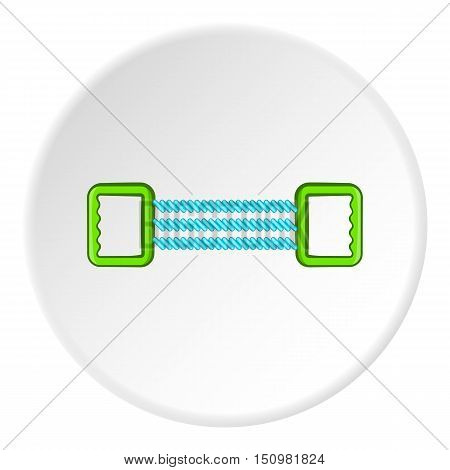 Spring expander icon. Cartoon illustration of spring expander vector icon for web