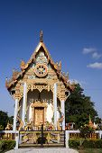 Thai Buddhist temple located in Kelantan Malaysia. **Note slight graininess, best at small sizes. poster