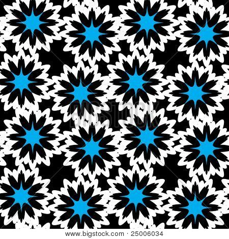 Seamless pattern. Flowers. Vector.
