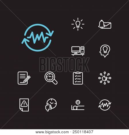 Task Icons Set. To-do List And Task Icons With Capability, Inspiriting Idea And Urgent Task. Set Of