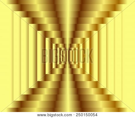 Abstract Gradient Gold Texture Background, Vector Illustration, Eps10. Use As Background, Backdrop,