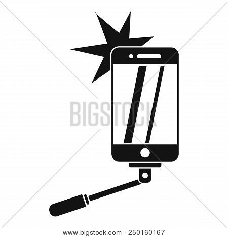 Take Selfie Icon. Simple Illustration Of Take Selfie Vector Icon For Web Design Isolated On White Ba