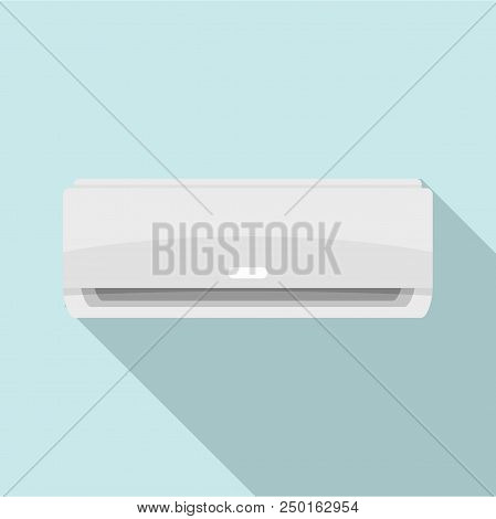 Commercial Conditioner Icon. Flat Illustration Of Commercial Conditioner Vector Icon For Web Design