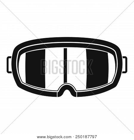 Under Water Glass Mask Icon. Simple Illustration Of Under Water Glass Mask Vector Icon For Web Desig