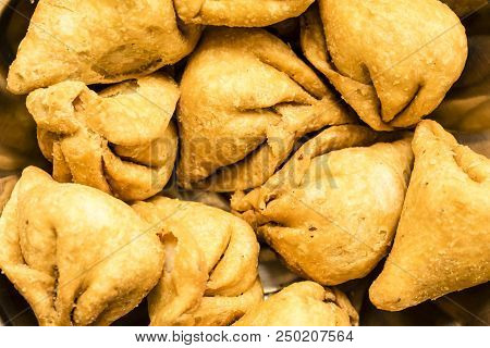 Baked Savories Or Snacks From India Called
