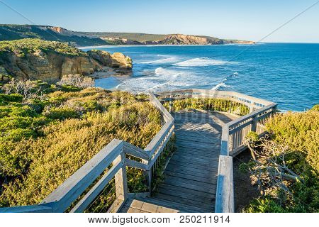 Attis Point View And Lookout On The Great Ocean Road, Australia