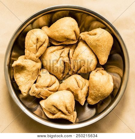 Indian Baked Savories Called
