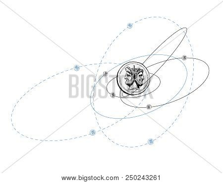 Quantum Mechanics Vector Photo Free Trial