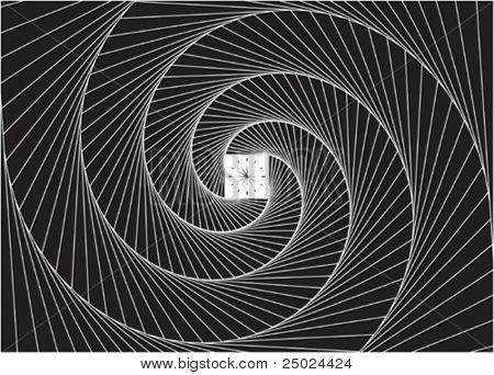vector file of time portal design