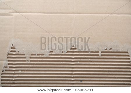 Recycled Paper crimped background