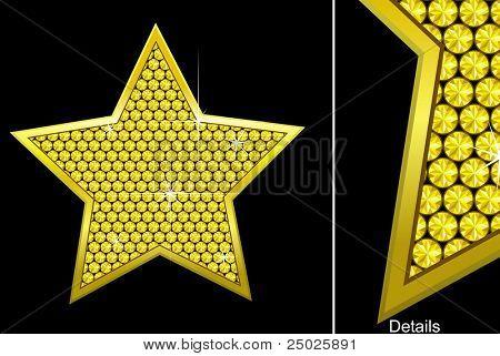 vector diamond star