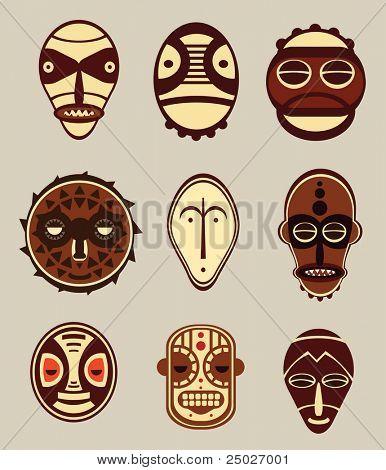 African Cultural Masks