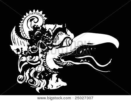 Garuda head