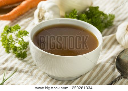 Homemade Organic Beef Bone Broth