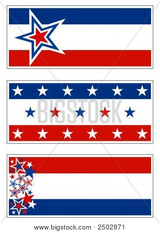 Patriotic Banner Decorations