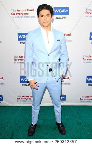 LOS ANGELES - JUN 11: Diego Tinoco at The Actors Fund's 22nd Annual Tony Awards Viewing Party at the Skirball Cultural Center on June 10, 2018 in Los Angeles, CA