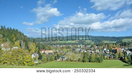 Idyllic Village Of Hinterzarten In Black Forest,baden-wuerttemberg,germany