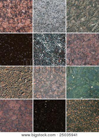 Different Stones Textures