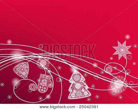 Winter Decorative Background