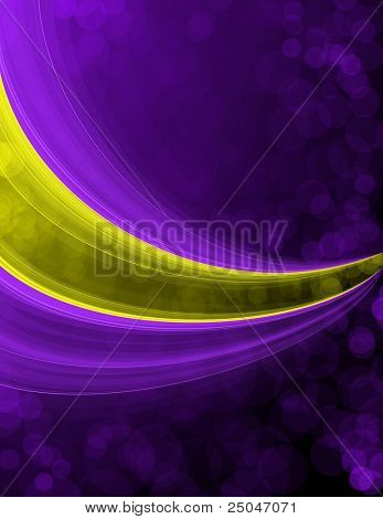Colorful background with space for your message