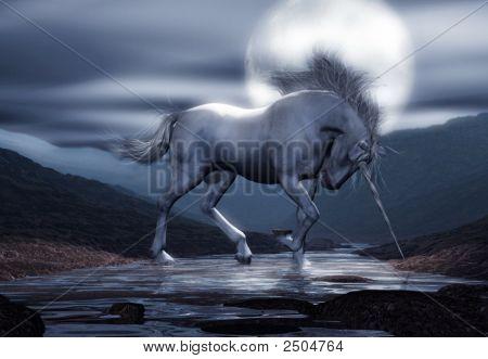Unicorn Moon Wide Format