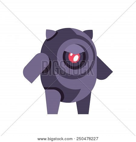 Chat Bot Robot Icon Artificial Intelligence Concept Chatbot Technology Isolated Flat Vector Illustra